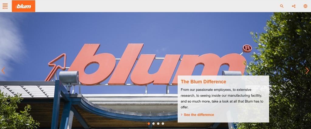 Blum Manufacturer